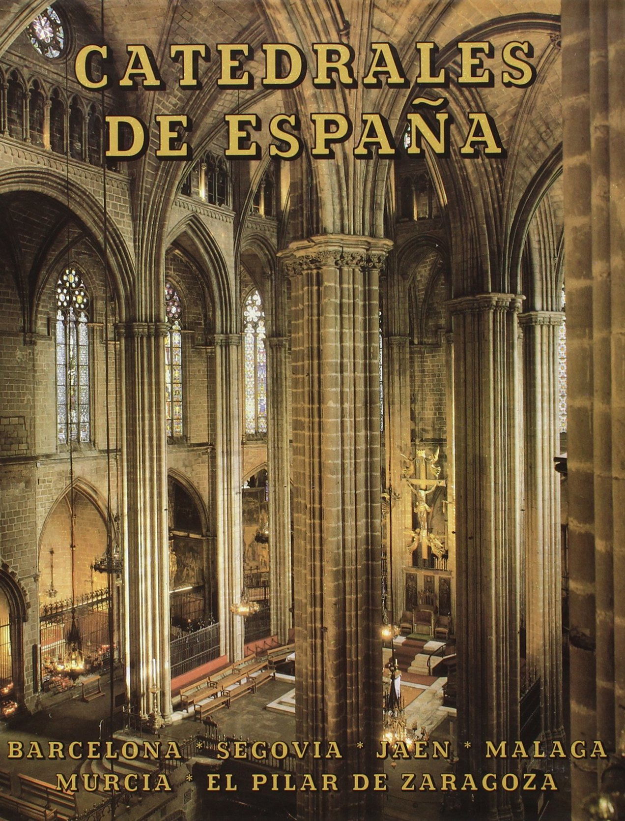 Catedrales de España. Tomo V: Barcelona, Segovia, Jaén, Málaga ...