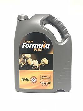 Aceite motor 10w40 GALP FORMULA PLUS 10W40 5 litros: Amazon.es: Coche y moto