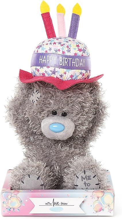 Peachy Amazon Com Me To You Happy Birthday Cake Hat Tatty Teddy Bear Funny Birthday Cards Online Drosicarndamsfinfo