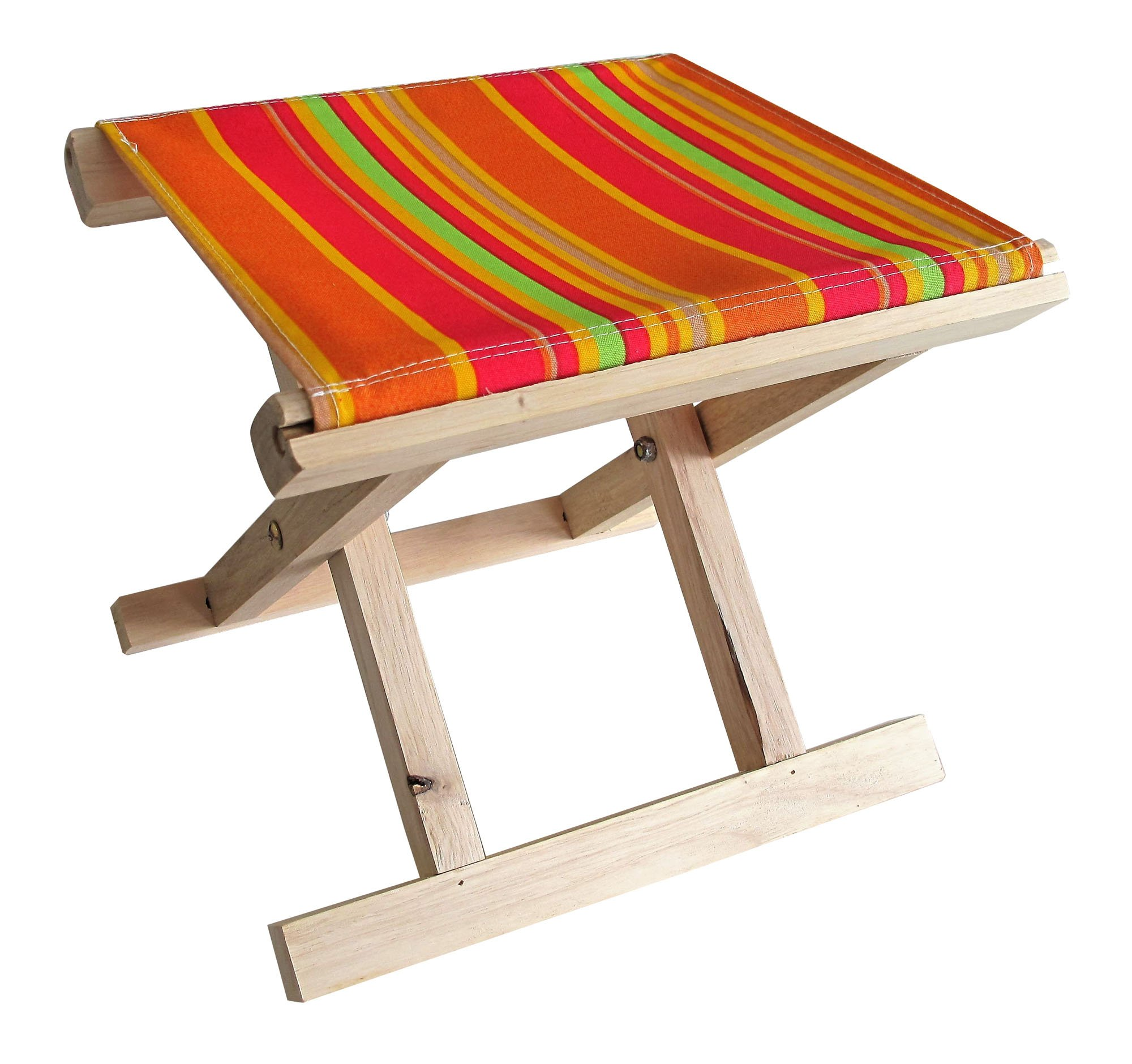 Palasyo Small Children's Foldable Stool with removable canvas. Suitable for a petite adult.