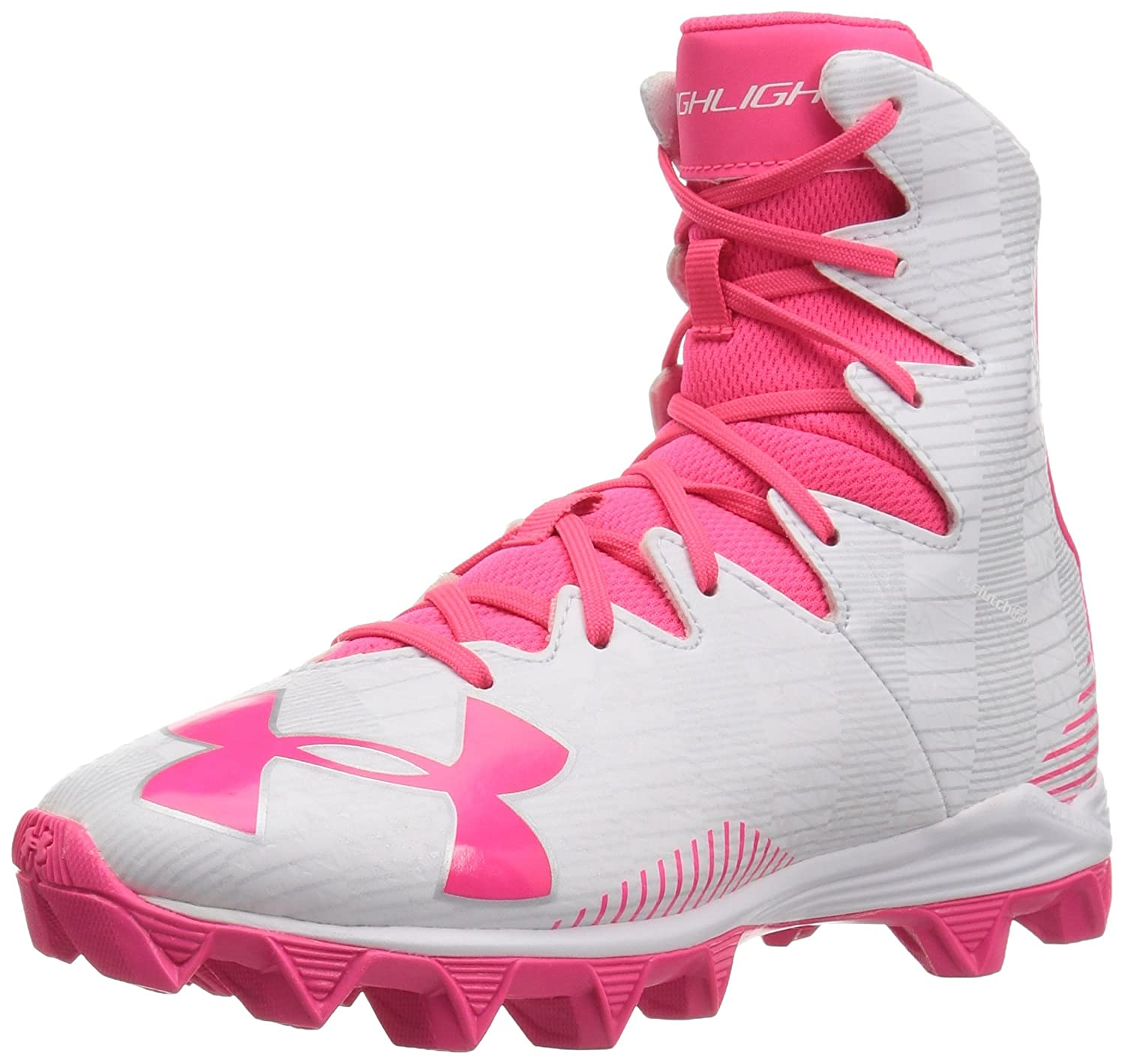 a1890410146b Amazon.com | Under Armour Kids' Highlight Rubber Molded Lacrosse Shoe |  Athletic