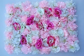 Amazon De Gyd Rosen Deko Blumen Blumenwand 40x60cm Hochzeit