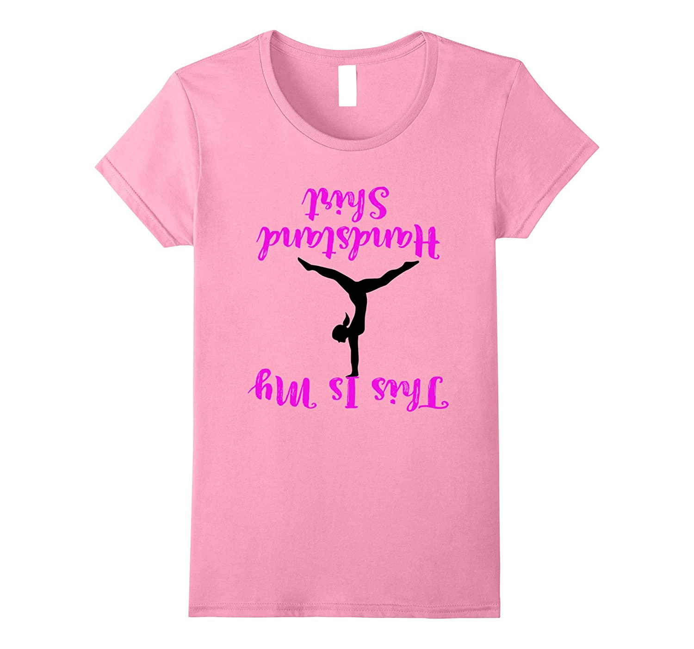 Womens Gymnastics Handstand TShirt Medium-Tovacu