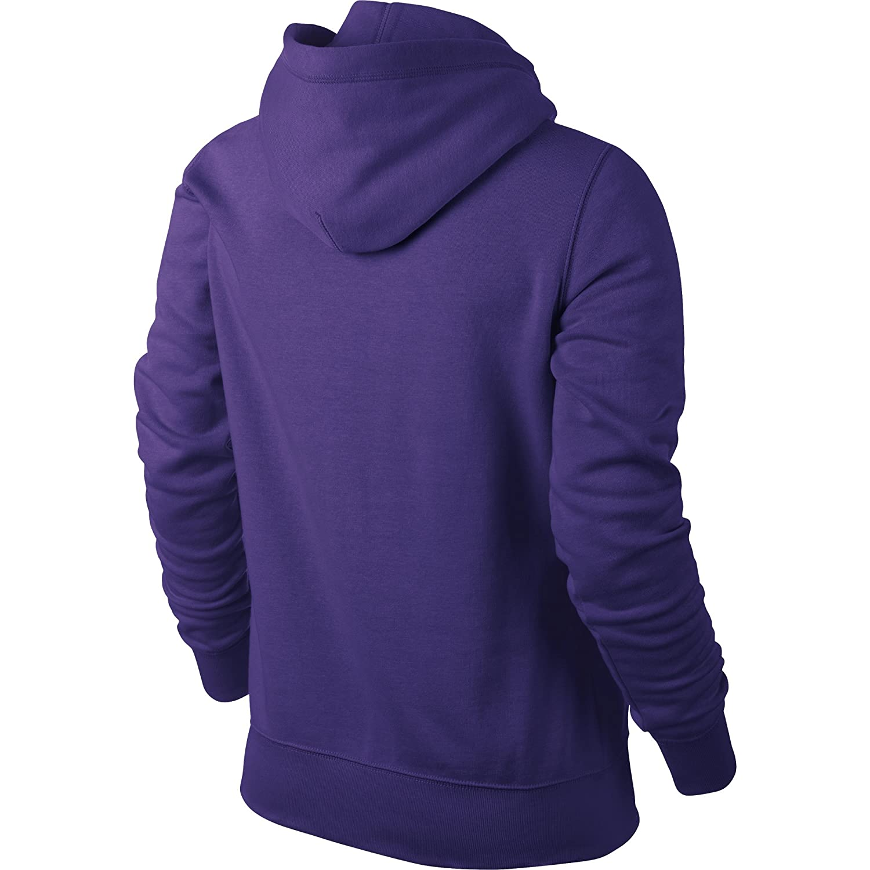Nike Damen CLUB SWOOSH PULLOVER Kapuzen 611717 547 Größe: S