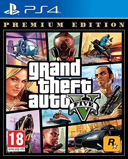 Buy Grand Theft V - Premium Edition (PS4) Online at Low
