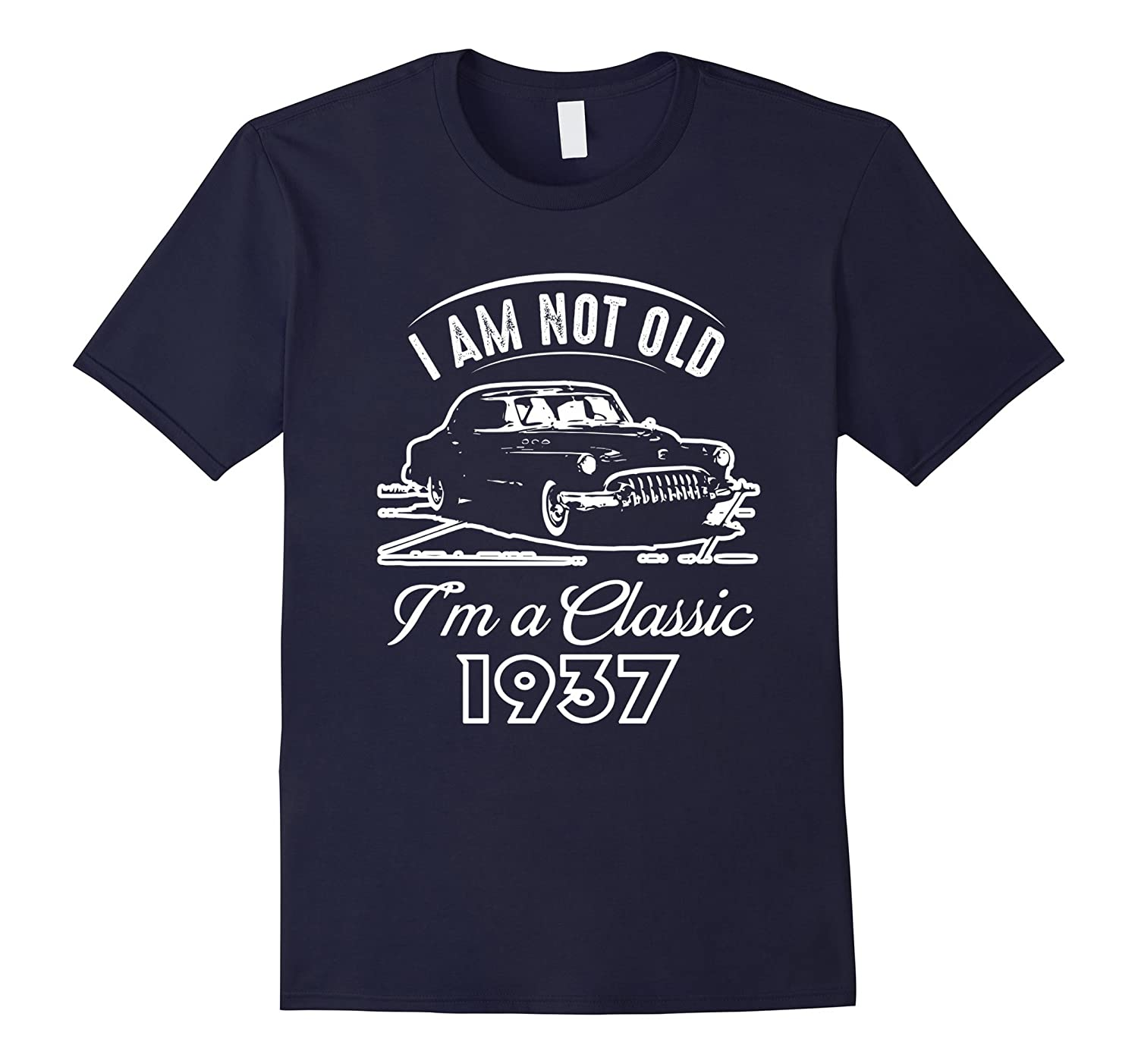 Classic 1937 80th Birthday Tshirt Awesome Since 80 Years Tee-FL