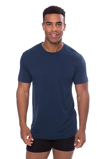 Hombre Cuello Redondo Undershirt (1 Unidad) Lujo Ropa Interior para él