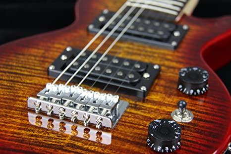 Amazon.com: Shredneck Travel Guitar - Cherry Sunburst - Model: STVD-CS: Musical Instruments