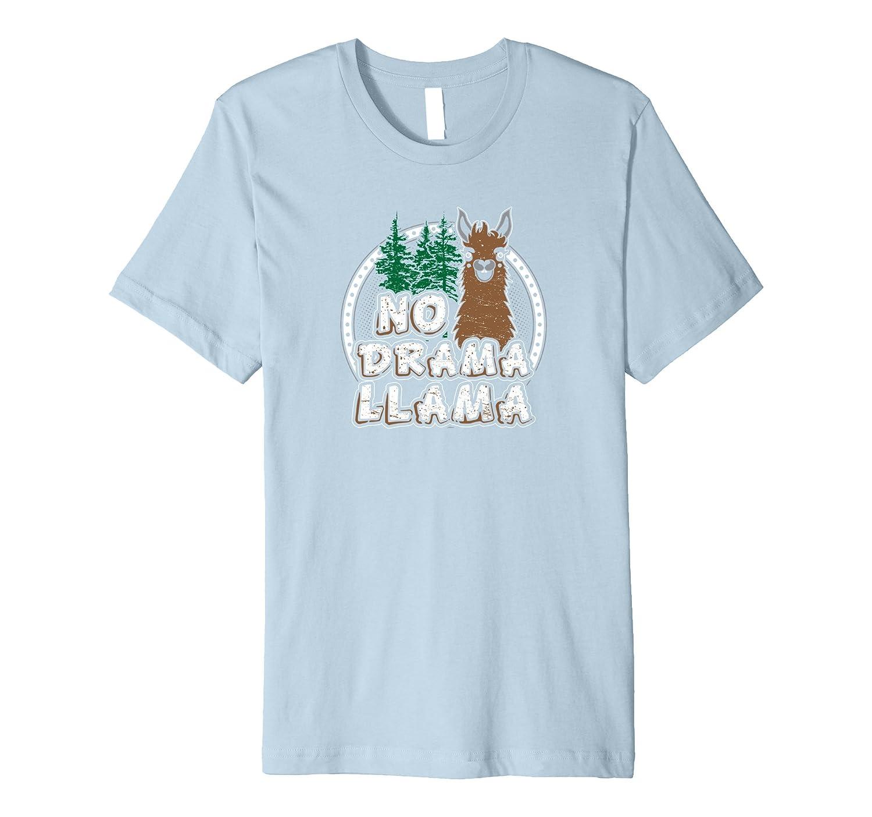 No Llama No Drama T Shirt 10100