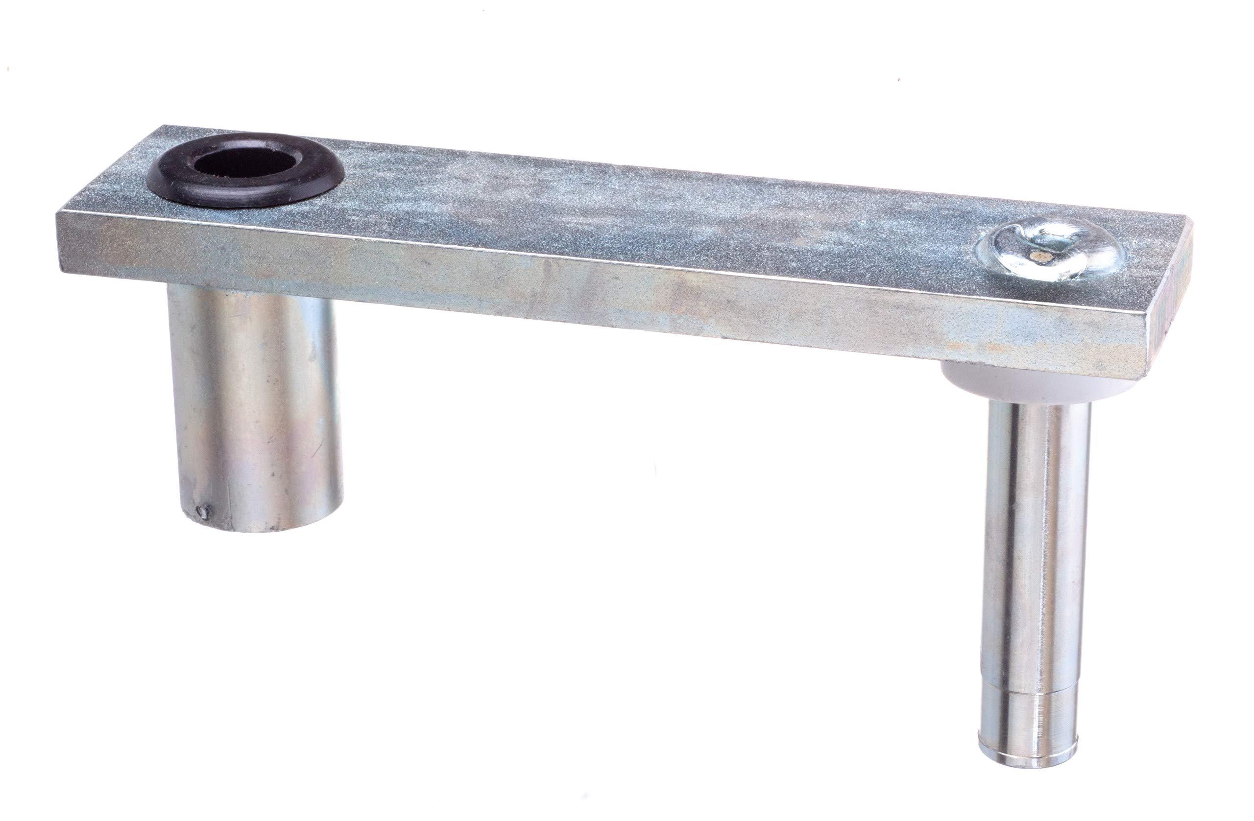 attwood 7062-3 Swivl-Eze Zinc-Plated Steel 6-Inch Swivel Offset Marine Boat Seat Mount by Swivl-Eze