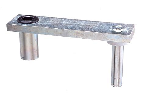 attwood 7062-3 Swivl-Eze Zinc-Plated Steel 6-Inch Swivel Offset Marine Boat  Seat Mount