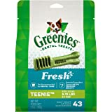 Greenies Large Natural Dog Dental Care Chews Oral Health Dog Treats Fresh Flavor