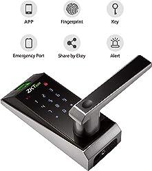 Keyless Door Locks with Bluetooth/Biometric Fingerprint Door Lock Electronic Keypad Digital Smart Locks for