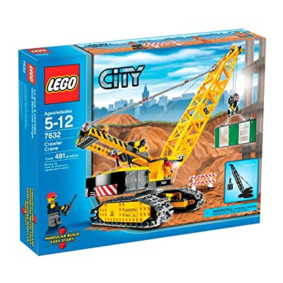 LEGO City Crawler Crane (7632): Toys & Games