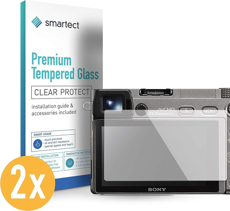 smartect Cristal Templado para Móvil Sony Alpha 6000 [2 Unidades]: Amazon.es: Electrónica