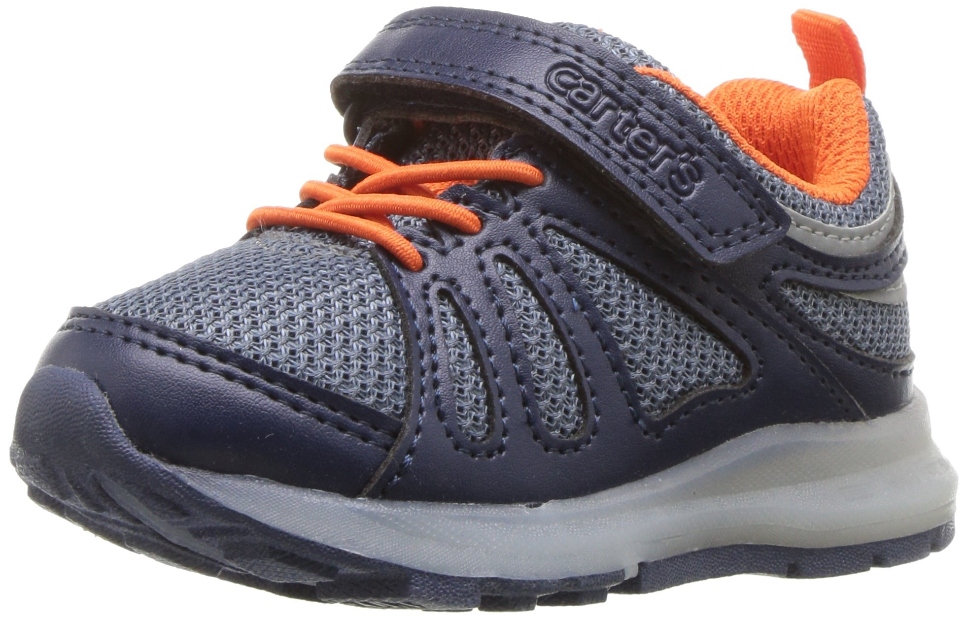 Carter's Baby Shelby Boy's and Girl's Light Sneaker, Navy, 10 M US Toddler