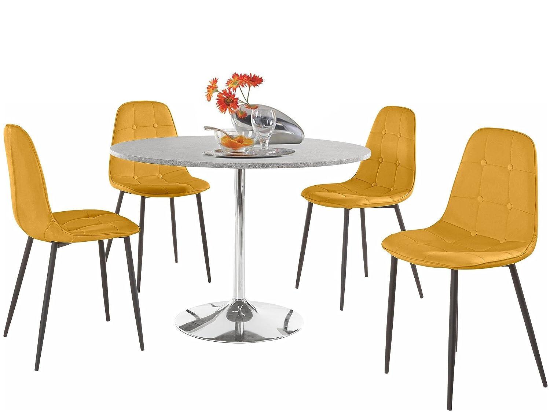 Loft24 TROMPET Esstisch ø110 cm Tisch Rund Küchentisch Bartisch ...