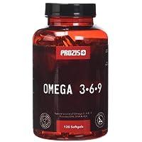 Prozis Omega 3:6:9 120 Cápsulas - Complemento con una Fórmula Esencial de Ácidos Grasos, 40 Dosis
