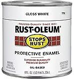 Rust-Oleum 7792730 Protective Enamel Paint, 8-Ounce, Gloss White