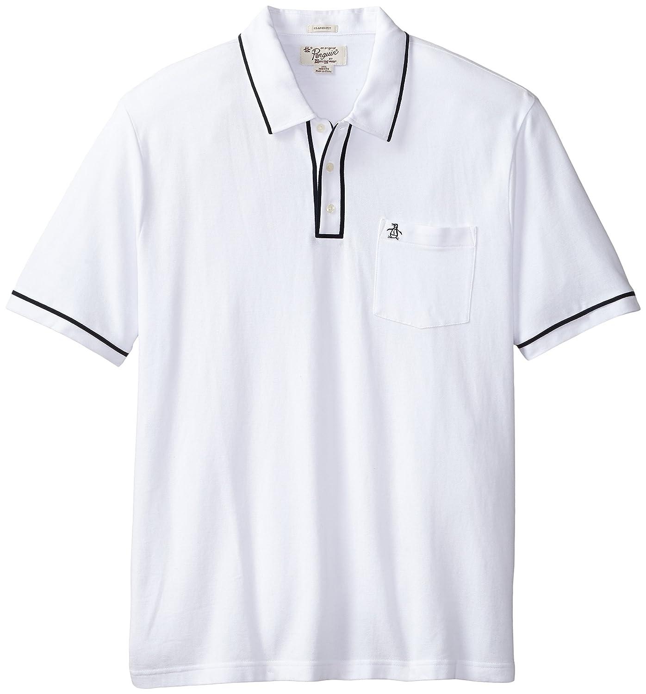 Amazon Original Penguin Mens Big Earl Pique Polo Shirt Bright