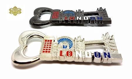 Compra Juego de 2 Torre de Londres novedad Bigben Interactive imán ...