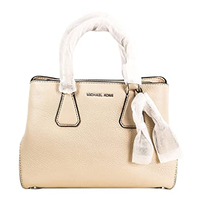 36f311be2cb6 Image Unavailable. Image not available for. Color  Michael Kors Women s  Ballet Pebbled Leather Camille Small Satchel Bag