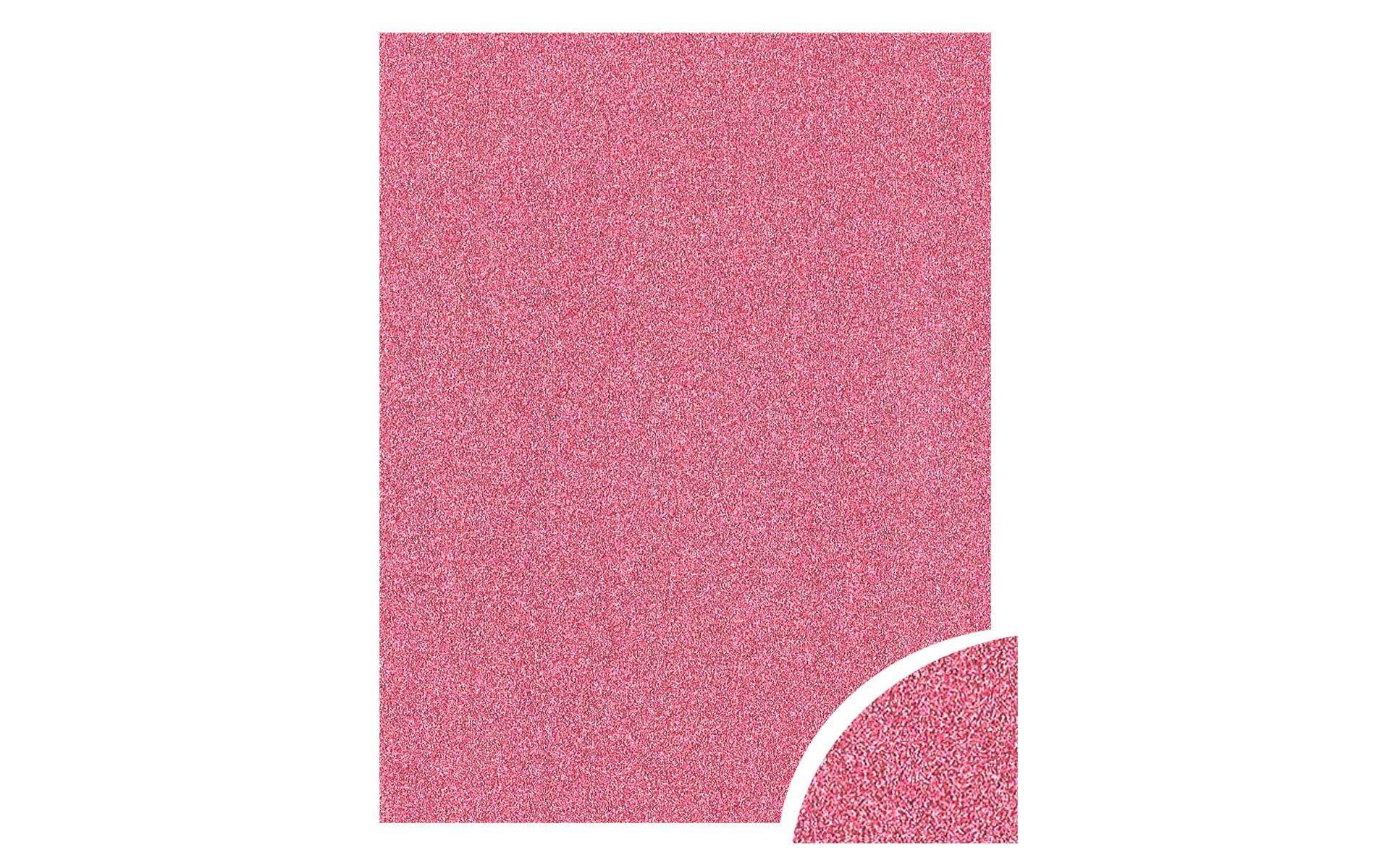 Paper Accents Cdstk Glitter 22x28 85lb Pink UPC