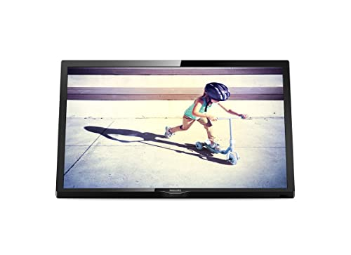Philips 22PFT4022/05 22-Inch Full HD LED TV with Freeview HD - Black with lean-back design (2017 Model)