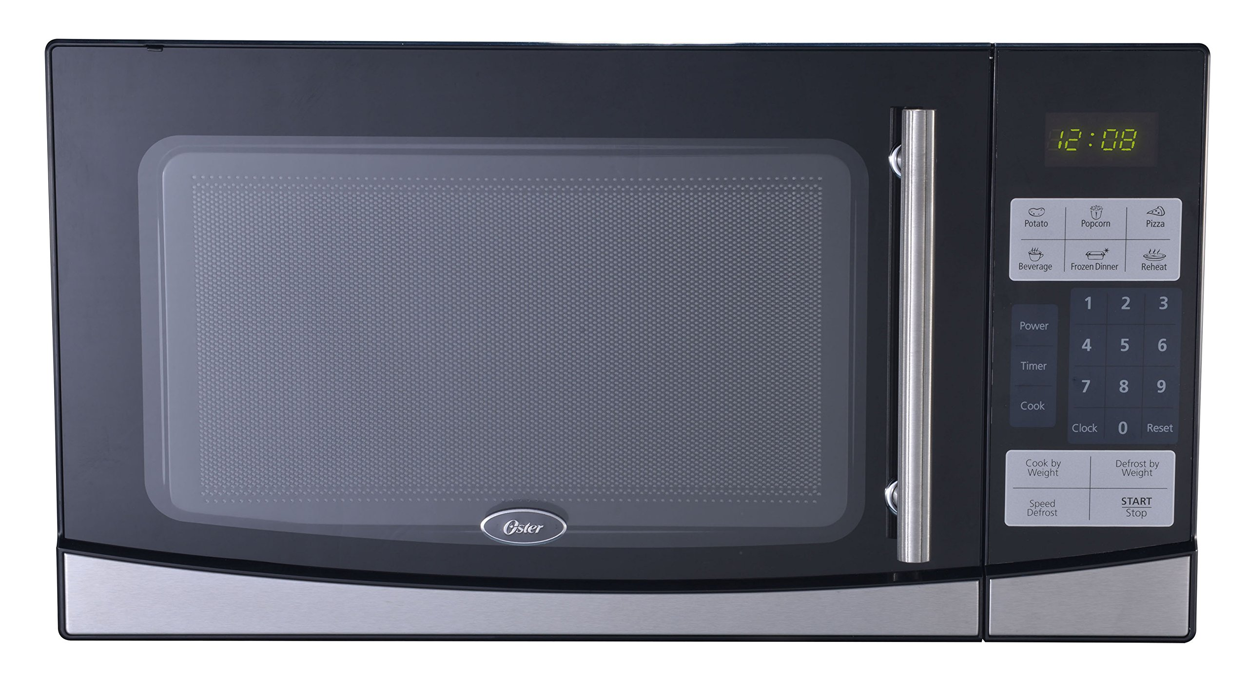 Oster OGB61102 1.1-Cubic Feet Digital Microwave Oven, Black by Oster