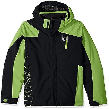 Spyder - Chaqueta de esquí para niño, Niños, color Black ...