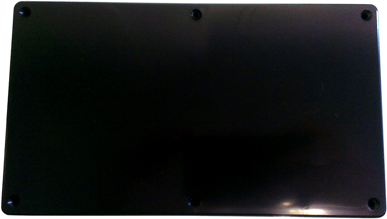 1x abs plastique noir transformateur alimentation projet psu box case brique