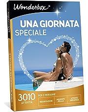WONDERBOX Cofanetto Regalo per Coppia- Una Giornata Speciale - 3010 attività per 2 Persone