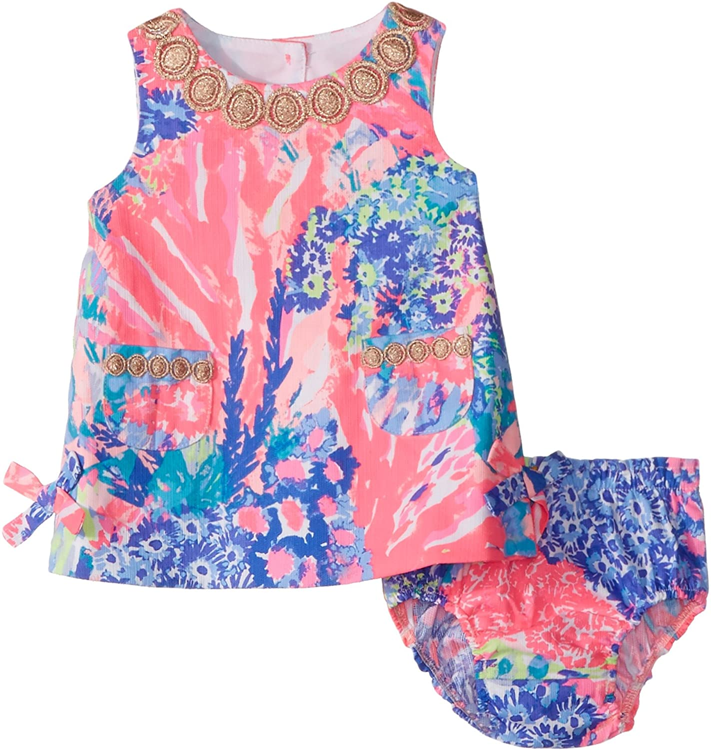 Amazon Lilly Pulitzer Baby Girls Lilly Shift Multi Rainbow