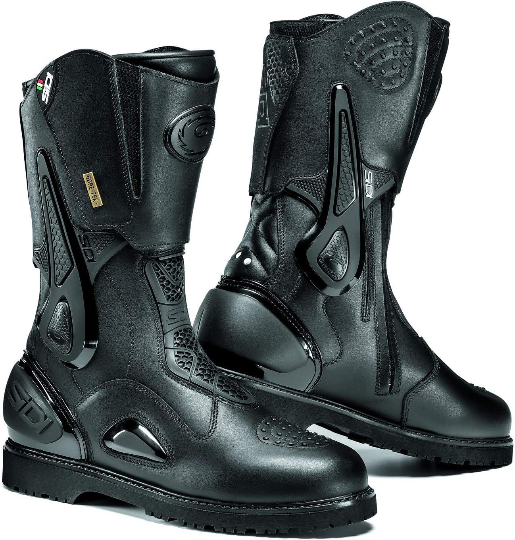 Sidi Aria Gore-Tex Motorcycle Boots Black SZ 8.5//42