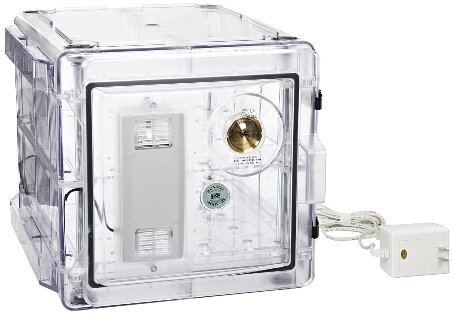 Bel-Art Secador Clear 2.0 Auto-Desiccator Cabinet; 100V, 1.2 cu. ft. (F42072-1100): Science Lab Desiccator Accessories: Amazon.com: Office Products