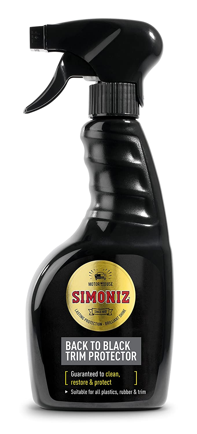 Simoniz Back to Black Trim Protector 500ml SAPP0081A