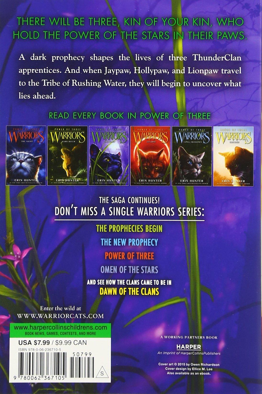 Warriors: Power Of Three #3: Outcast: Erin Hunter: 9780062367105:  Amazon: Books