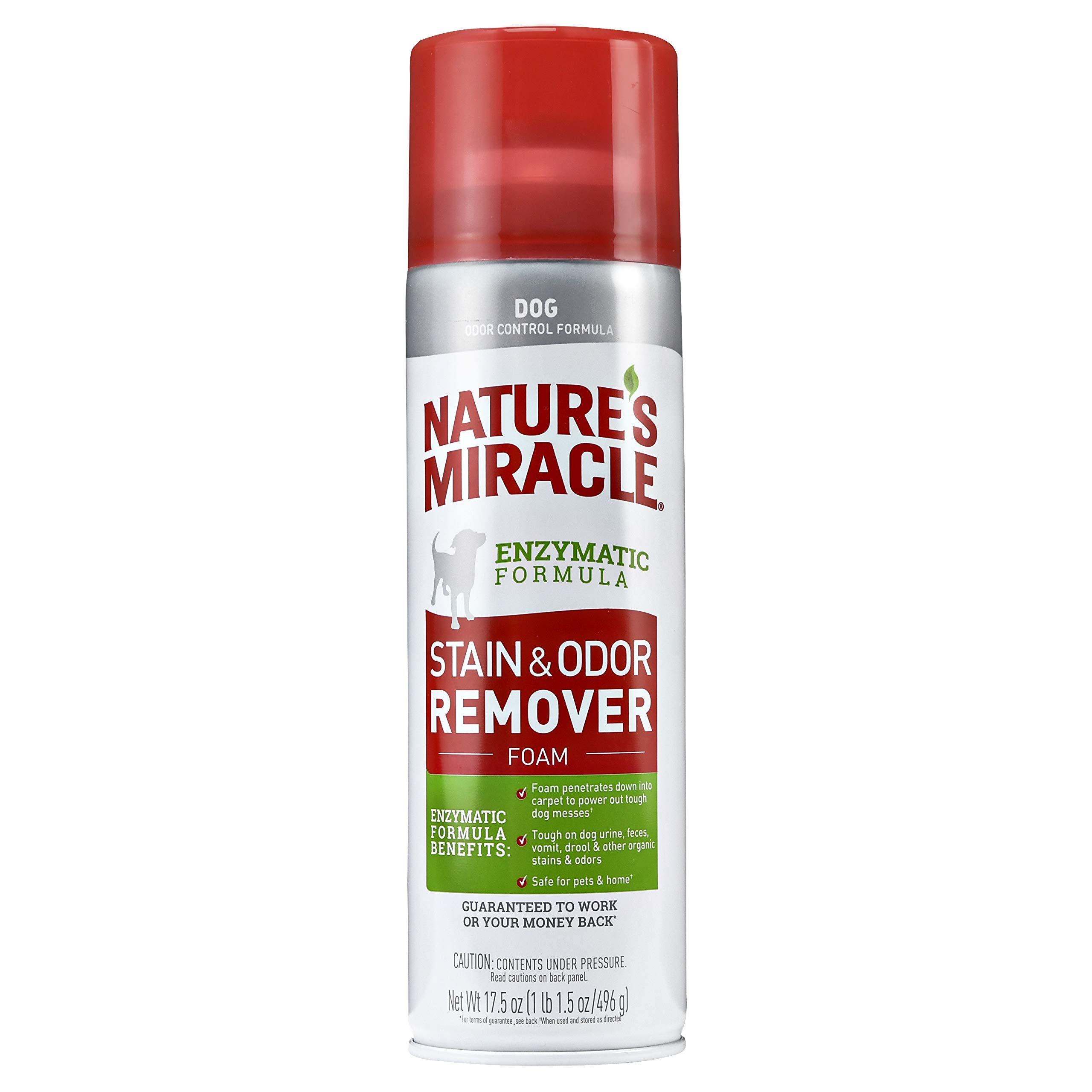Nature's Miracle Dog Aerosol Foaming, 17.5 oz by Nature's Miracle (Image #1)