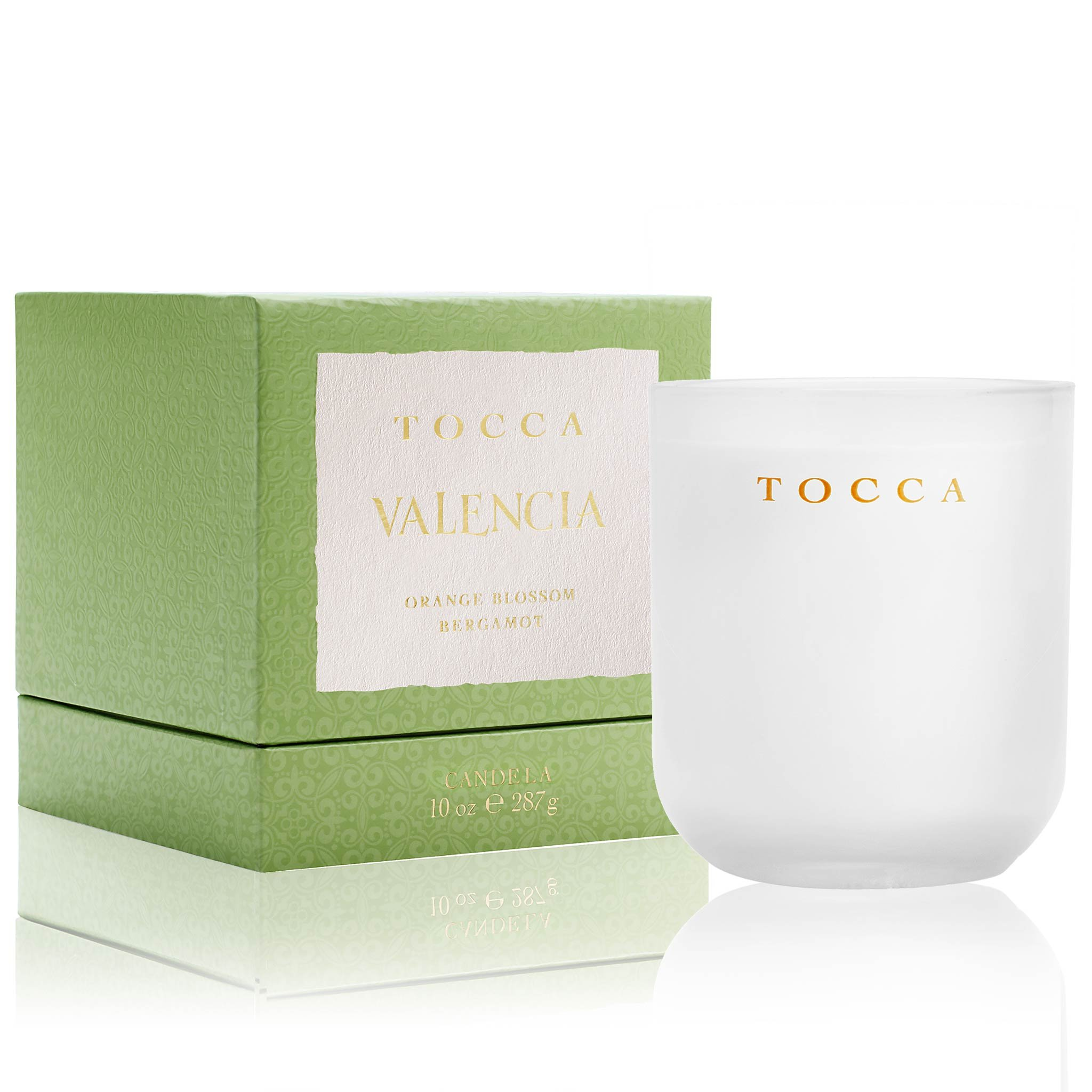 Tocca Valencia Orange Blossom & Bergamot Candle, 10 oz