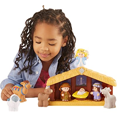 Fisher-Price Little People Nativity, Single: Toys & Games