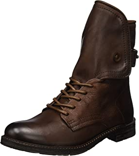 Buffalo London ES 30963 Sauvage Nevada, Bottes Motardes Femme, Marron (Nougat 01), 36 EU