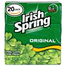 Irish Spring Deodorant Soap (20 Count, Original)