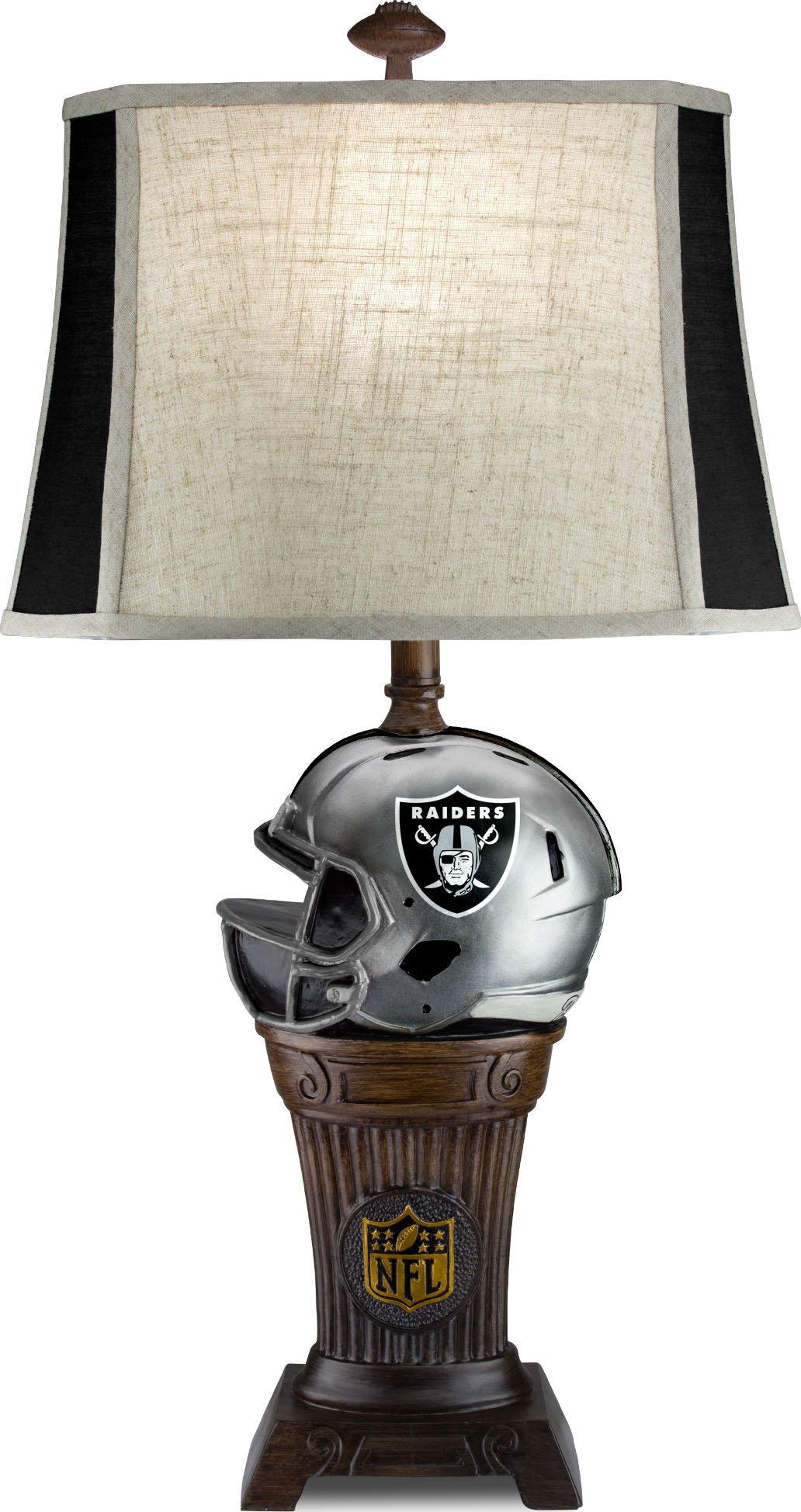 Imperial Officially Licensed NFL Merchandise: Trophy Lamp, Oakland Raiders