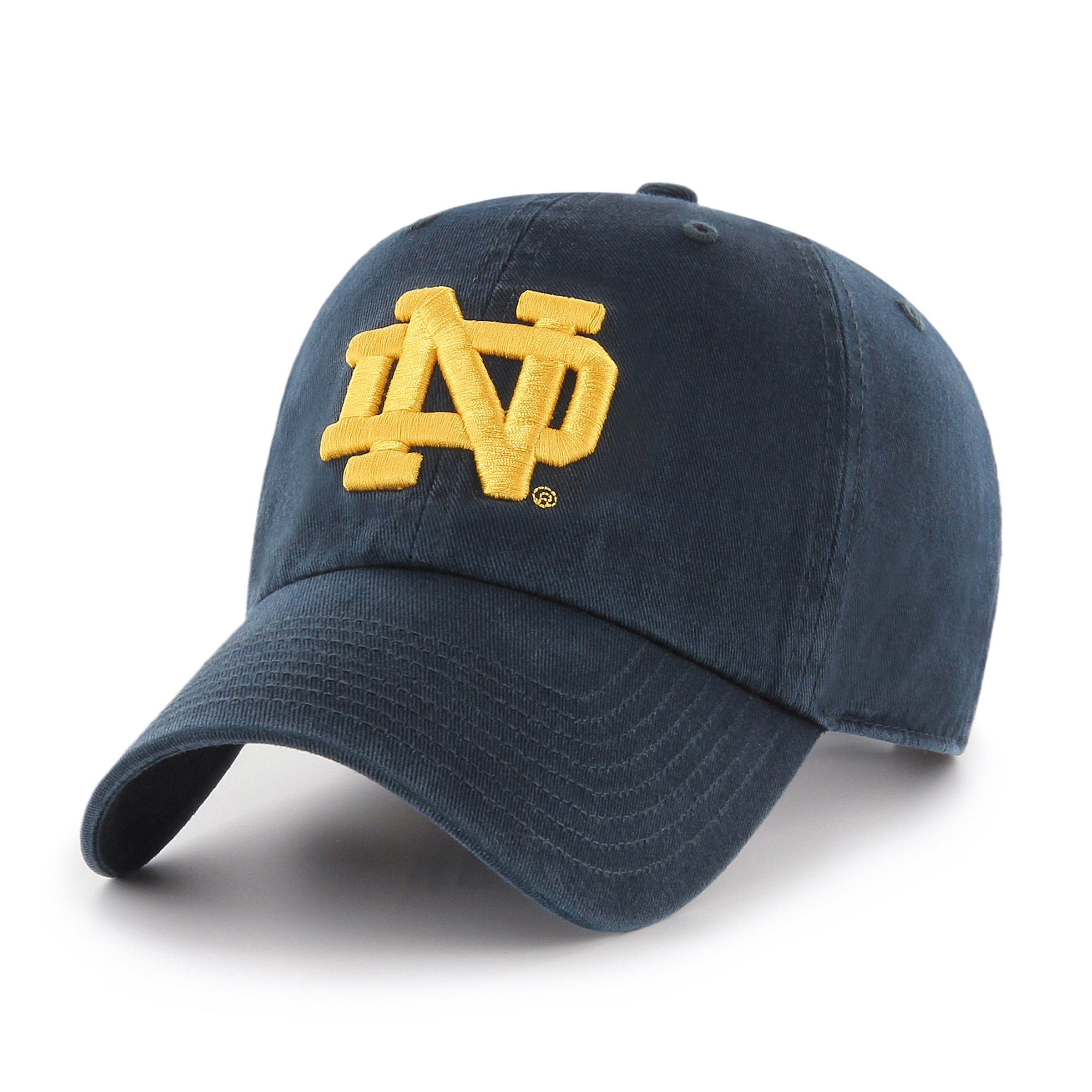 check out 96bab f5b5e Galleon - NCAA Notre Dame Fighting Irish OTS Challenger Adjustable Hat, Navy,  One Size