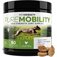 PureMobility Glucosamine for Dogs - Premium Dog Joint Supplement Support with Glucosamine...