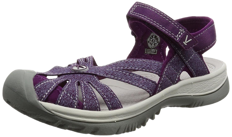 KEEN Women's Rose Sandal B01H8GB9U8 7 B(M) US|Dark Purple/Purple Sage