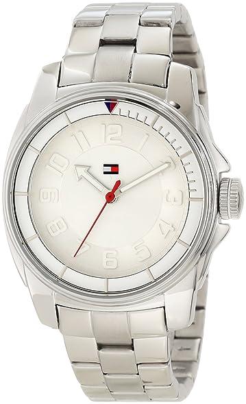 Tommy Hilfiger Womens 1781227 Sport Bracelet White Bezel Watch