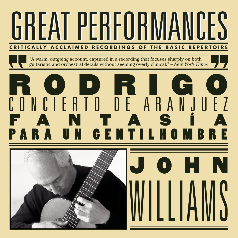 Cto de Aranjuez / Fantasia Para Un Gentilhombre: John Williams ...