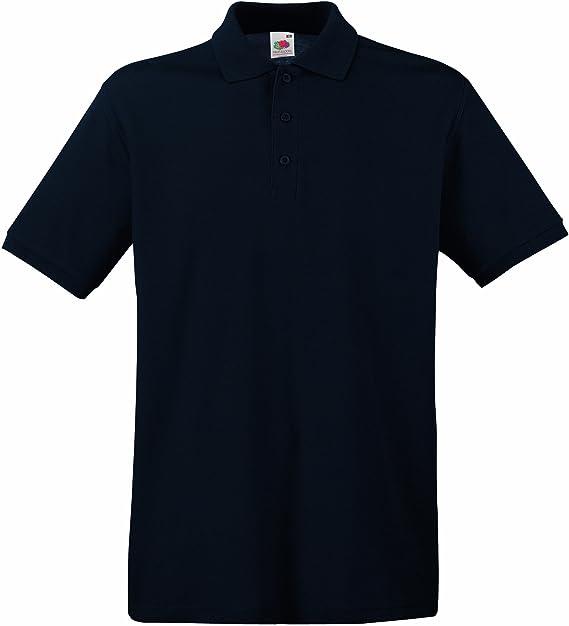 check out 3bf70 de8d7 Fruit of the Loom Herren Poloshirt SS035M XXL,Deep Navy