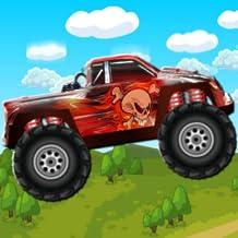 Hill Climb Monster Trucks